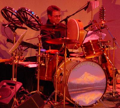 Dan Stueber drumming